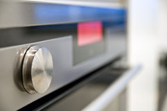 Kitchen stove front panel Stock Images