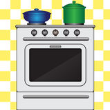 Kitchen stove Stock Photography