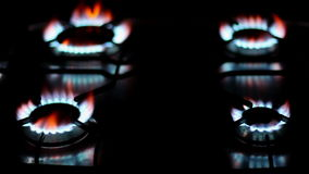 Kitchen stoves Stock Photo