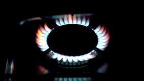 Kitchen stoves stock video footage