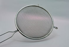 A kitchen strainer Royalty Free Stock Photography
