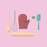 Kitchen Stuff Vector Royalty Free Stock Images