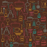 Kitchen supplies Royalty Free Stock Images