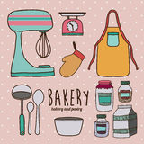 Kitchen supplies Royalty Free Stock Photography