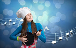 Kitchen symphony concept Royalty Free Stock Photography