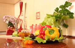 Kitchen table Stock Photography