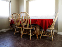 Kitchen Table Royalty Free Stock Photo