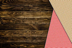 Kitchen Table napkin Royalty Free Stock Photography