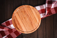 Kitchen table top view Royalty Free Stock Photo