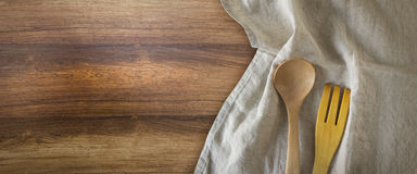 Kitchen tablecloth Royalty Free Stock Images