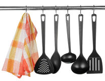 Kitchen tableware Royalty Free Stock Photos