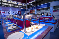 Kitchen and tableware Pavilion in Shanghai Stock Photography