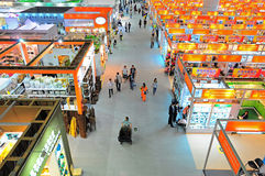 Kitchen & tableware pavilions at canton fair Stock Photo