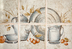 Kitchen tiles. Royalty Free Stock Image