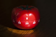 Kitchen timer for cooking and working Royalty Free Stock Photo