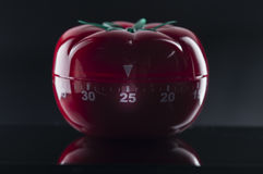 Kitchen timer for cooking and working Stock Image