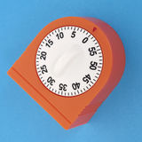 Kitchen Timer on a Vibrant Background Royalty Free Stock Images