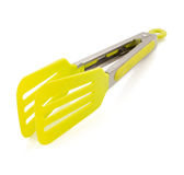 Kitchen tongs on white Stock Images