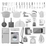 Kitchen tool collection Royalty Free Stock Image