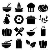 Kitchen Tool icons set great for any use. Vector EPS10. Stock Photography