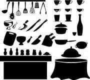 kitchen tool vector Royalty Free Stock Image