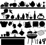 Kitchen tool vector. Illustration kitchen tool on white background vector file Stock Images