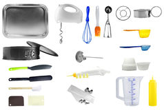 Kitchen Tools. Isolated over white background Stock Photo