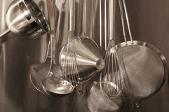 Kitchen Tools. An array of kitchen tools Royalty Free Stock Photography