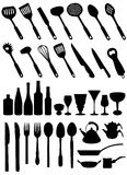 Kitchen tools vector stock illustration