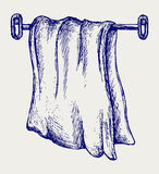 Kitchen towel Stock Images