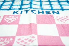 Kitchen towel Stock Image