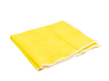 Kitchen towel. Isolated on white background Royalty Free Stock Image