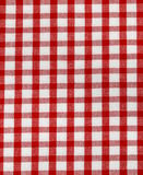 Kitchen towel in the red checkered Stock Photography