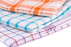 Kitchen towels Royalty Free Stock Photography