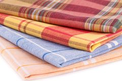 Kitchen towels Stock Photography