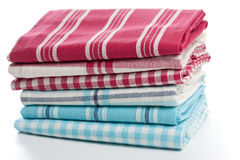 Kitchen towels Stock Photos
