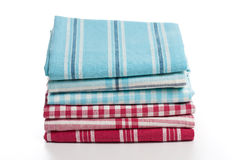 Kitchen towels Stock Photos
