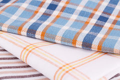 Kitchen towels Stock Images