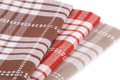 Kitchen towels Royalty Free Stock Images