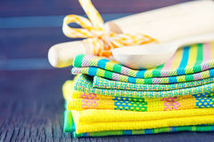 Kitchen towels Royalty Free Stock Image