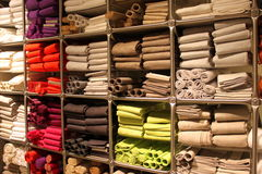 Rolls of towels Stock Photos