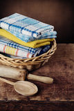Kitchen towels Stock Photo