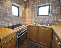 Kitchen unit Stock Image