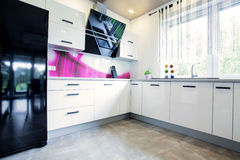 Kitchen units Royalty Free Stock Photos