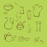 Kitchen utensil. Vector illustraition of kitchen utensil Design Set made with simple line only vector illustration