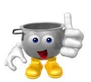 Kitchen Utensil Mascot Stock Photos