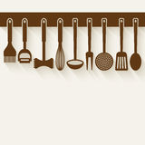 Kitchen Utensil Set Stock Image