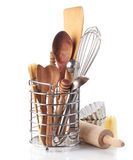 Kitchen utensil. S on a white background Stock Images