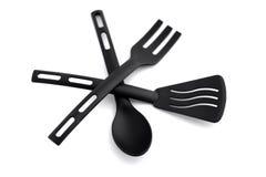 Kitchen utensil on white Stock Image