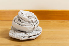 Kitchen utensil wrapped by paper Royalty Free Stock Image